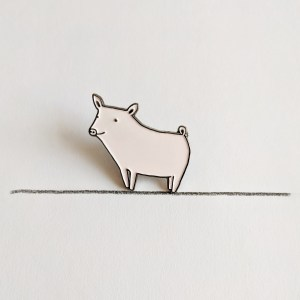Happy Pig Pin