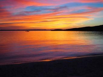 Sunset at Playa Pichilingue, Baja California Sur
