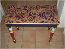 Table rénovée.