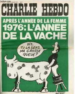 Charlie Hebdo - la vache
