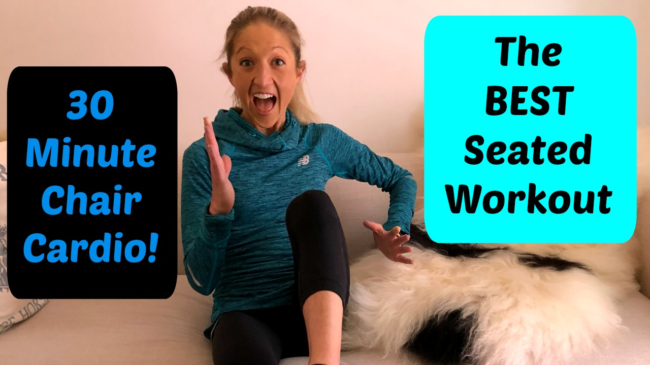 30 minutes in chair exercises for seniors caravan zero gravity reviews best seated workout this cardio routine will kick your butt