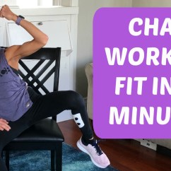 Chair Gym Workout Videos Alps Mountaineering Video Sit Get Fit In 20 Minutes With This Cardio Exercise Routine