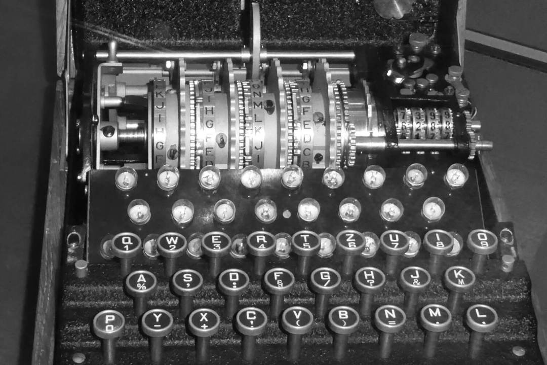 World War II Enigma Machine