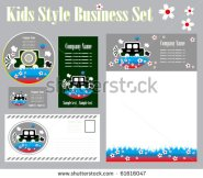 stock-vector-kids-style-corporate-identity-template-61616047