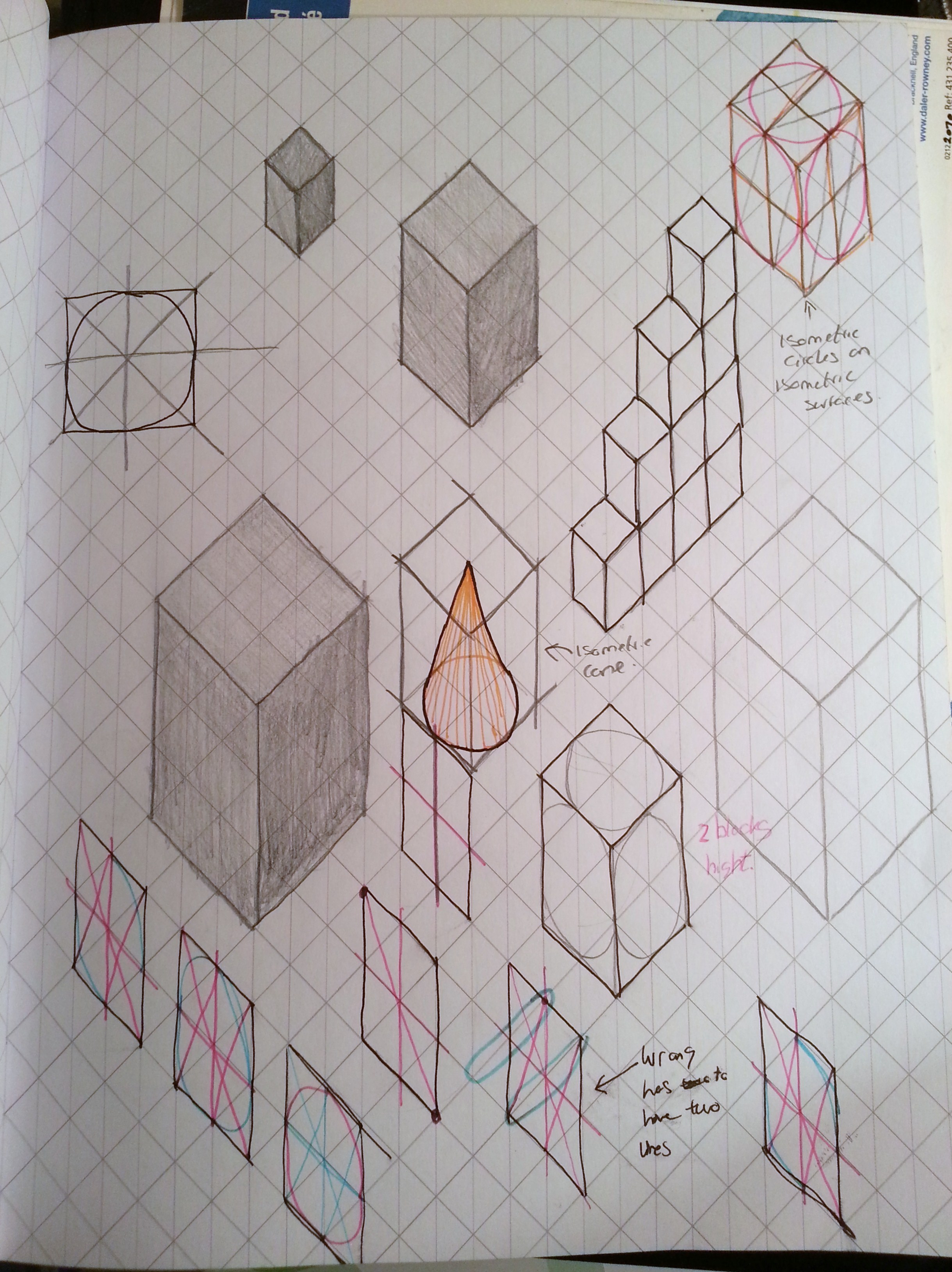 Isometric Drawing Final Major Project