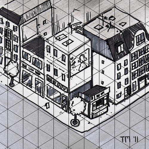 Example of Isometric Sketch