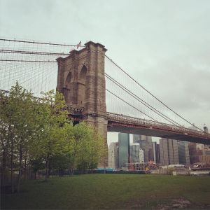Hangin' out in DUMBO