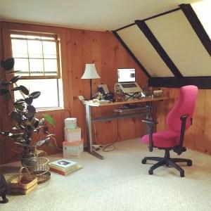 My little corner of office paradise.