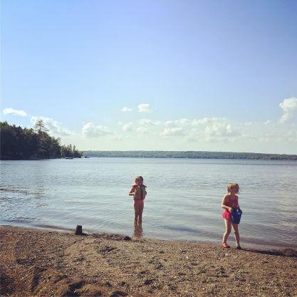 Lake time.