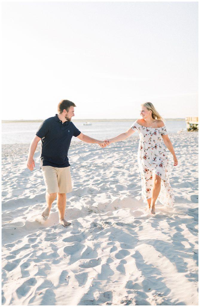 Sea Isle City Engagement | Caroline Morris Photography