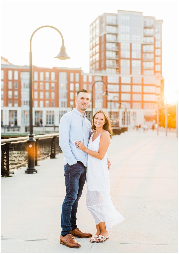 Hoboken Engagement   Caroline Morris Photography