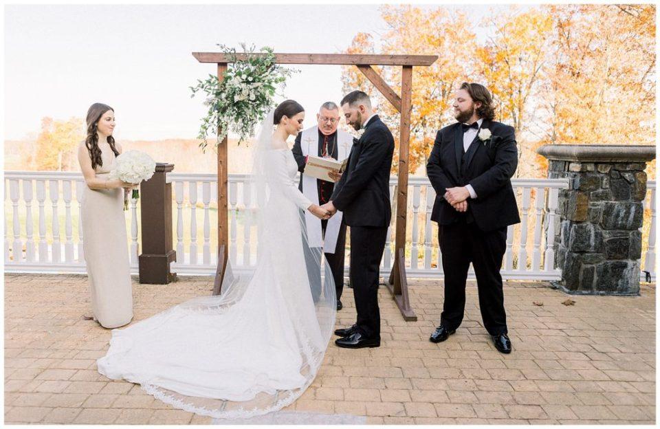 Saratoga National Golf Club Wedding | Caroline Morris Photography