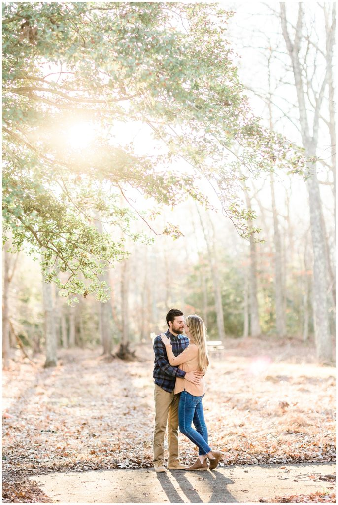 Allaire State Park Engagement | Caroline Morris Photography