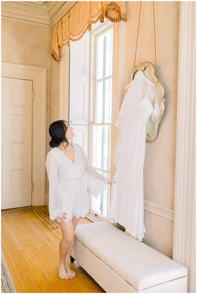 Glen Foerd Mansion Wedding | Caroline Morris Photography