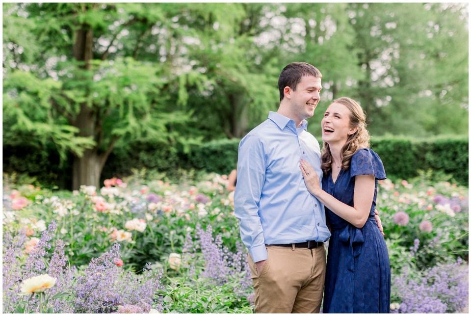 Longwood Gardens Engagement | Caroline Morris Photography