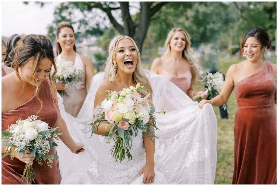 Water Works by Cescaphe Wedding   Caroline Morris Photography