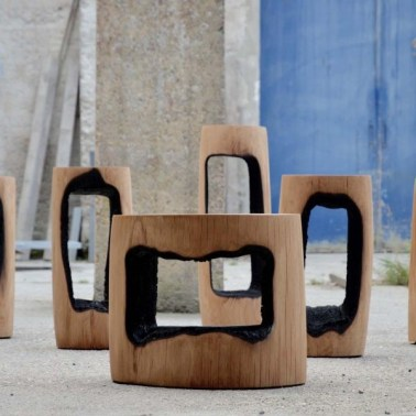 STOOL BY KASPAR HAMACHER
