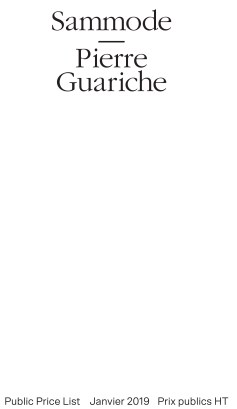 TARIF AVEC FT Sammode-Pierre Guariche-1