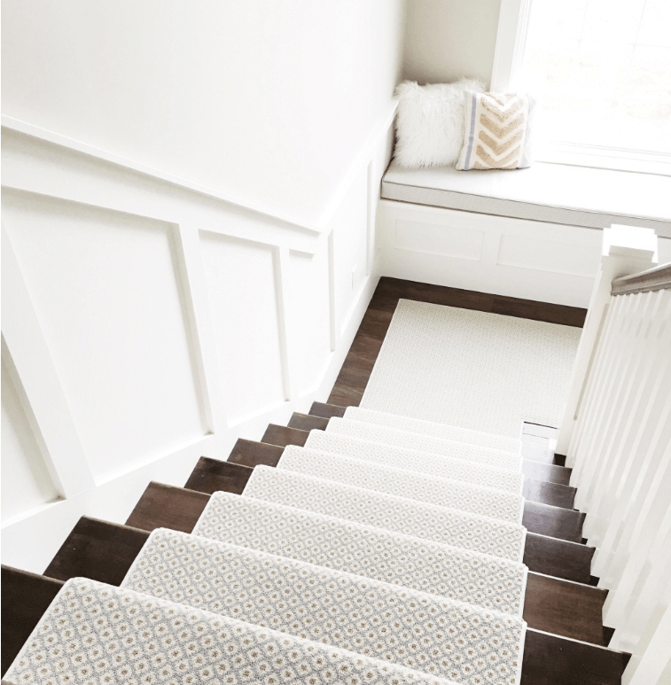 How To Choose And Lay A Stair Runner An Overview Caroline On Design | Running Carpet For Stairs | Carpet Runners | Laminate Flooring | Runner | Hallway | Grey