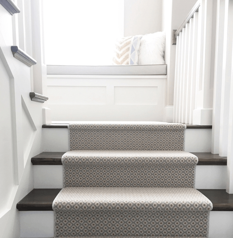 How To Choose And Lay A Stair Runner An Overview Caroline On Design | Low Pile Carpet For Stairs | Laminate | Unusual | Looped | Antelope | Bedroom