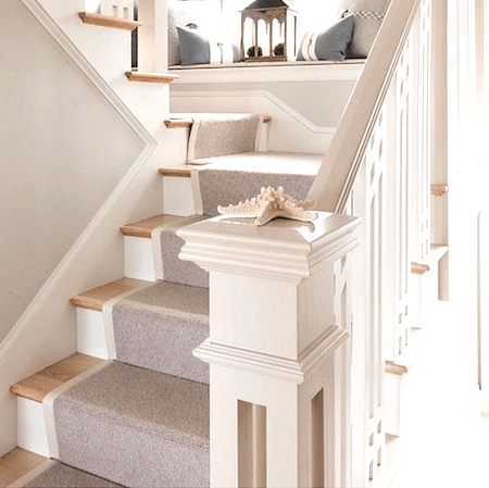 How To Choose And Lay A Stair Runner An Overview Caroline On Design | Carpet Runners For Stairs | Brown | Herringbone | Blue | Design | Wool