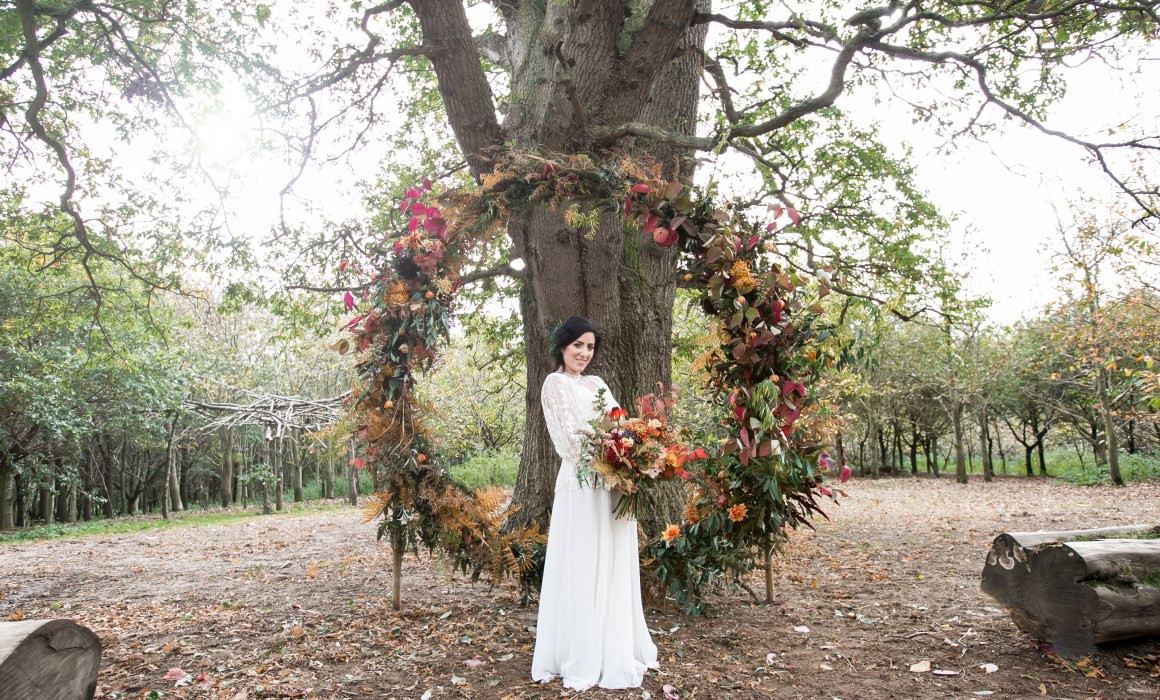 'vintage wedding dress essex', 'outdoor wedding venues essex', 'bohemian wedding venue essex'