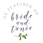 Wedding photographer featured on Bride & Tonic