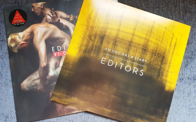 Editors vinyl collection