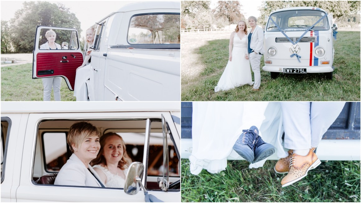 Adventure elopement in VW Camper