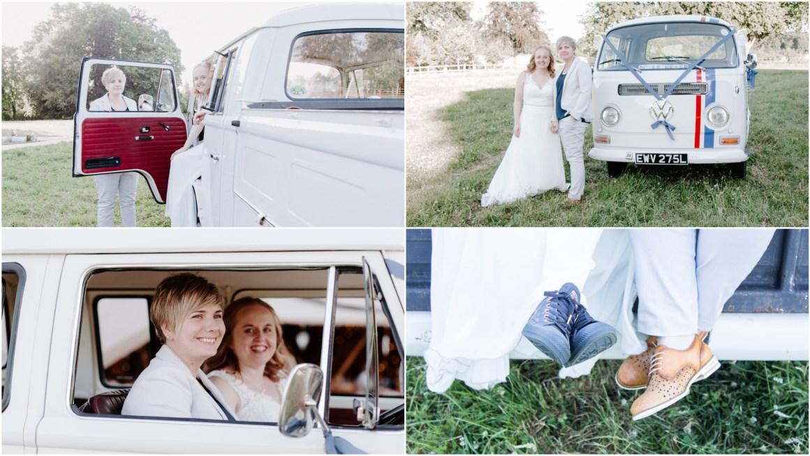 Adventure elopement in VW Camper