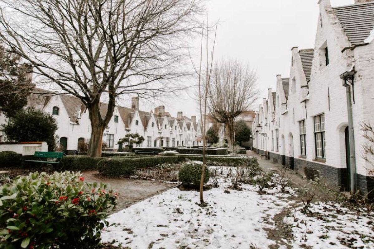 Godshuizen homes in Bruges