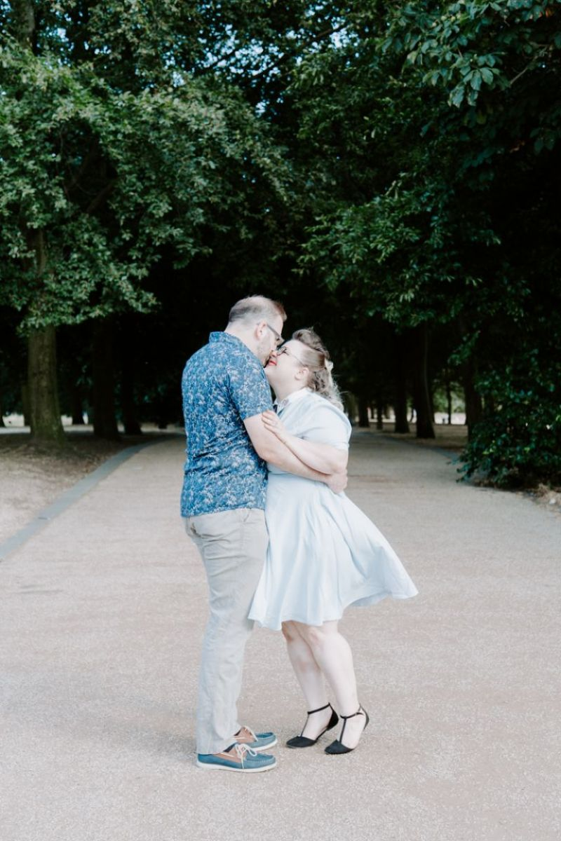 Greenwich Park engagement shoot