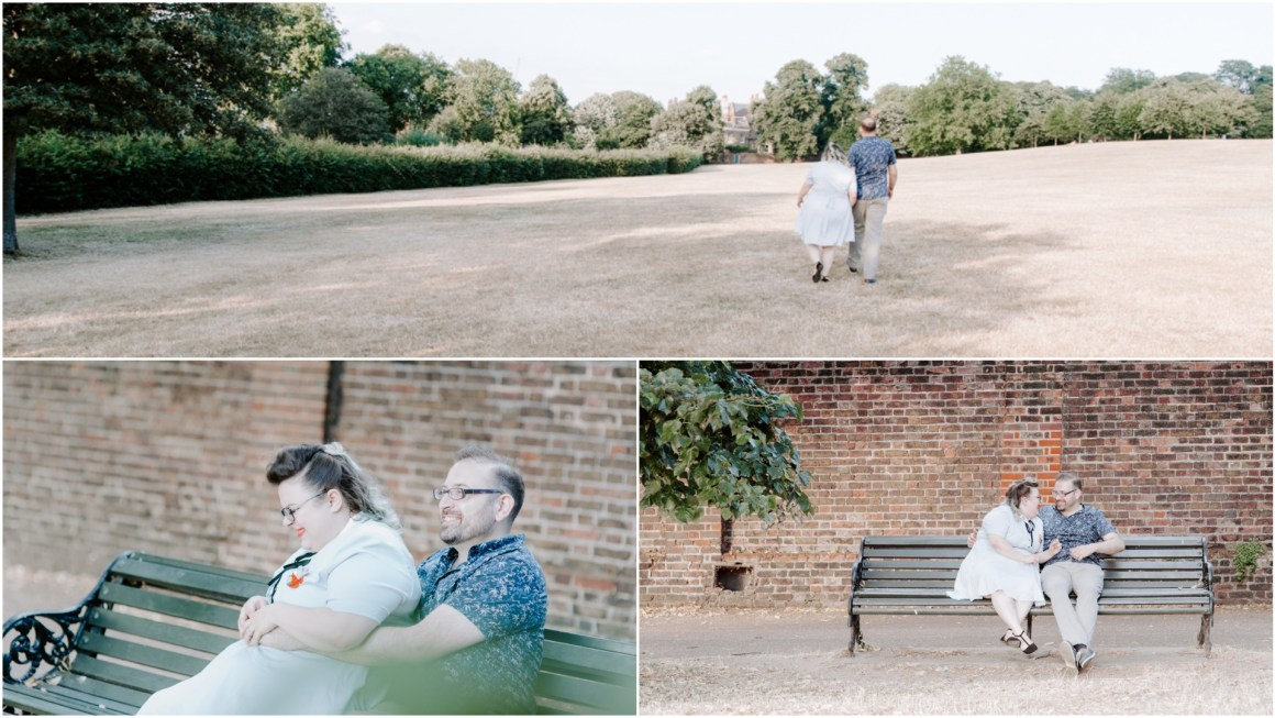 Documentary wedding photographer in London