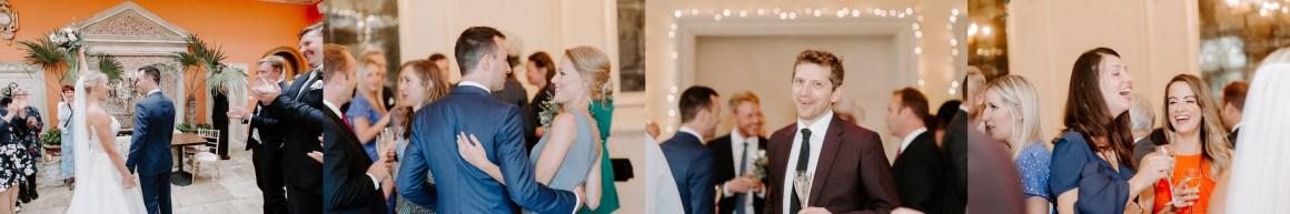 Wedding reception at the Ballroom at Euridge wedding venue
