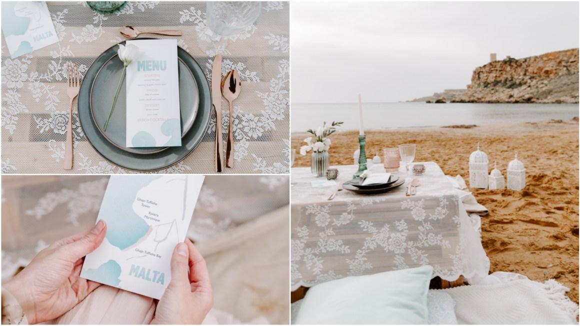 Għajn Tuffieħa beach elopement