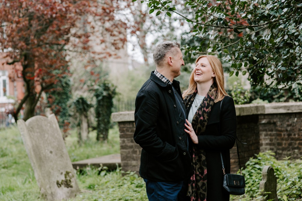 Clissold Park engagement shoot