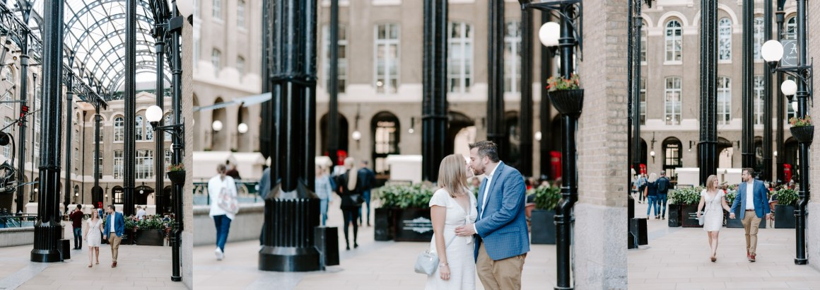 Steve Staeger's engagement - London