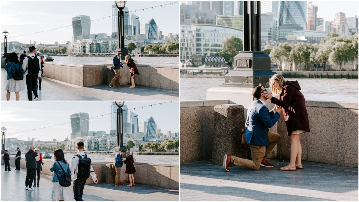 London proposal next to Tower of London