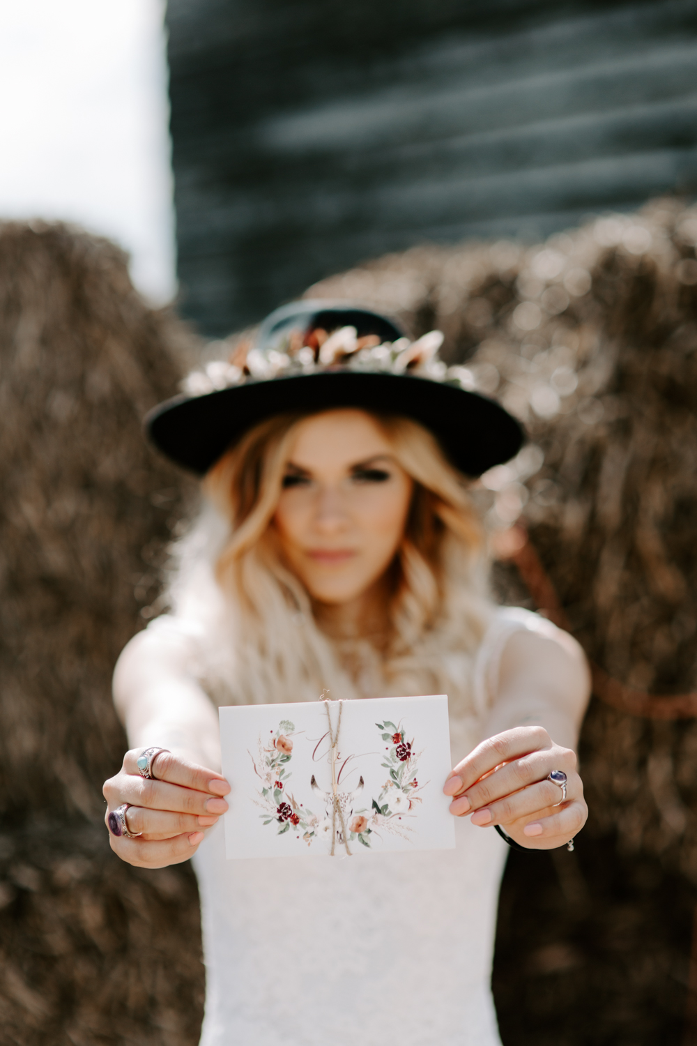 Bohemian wedding photographer in Essex
