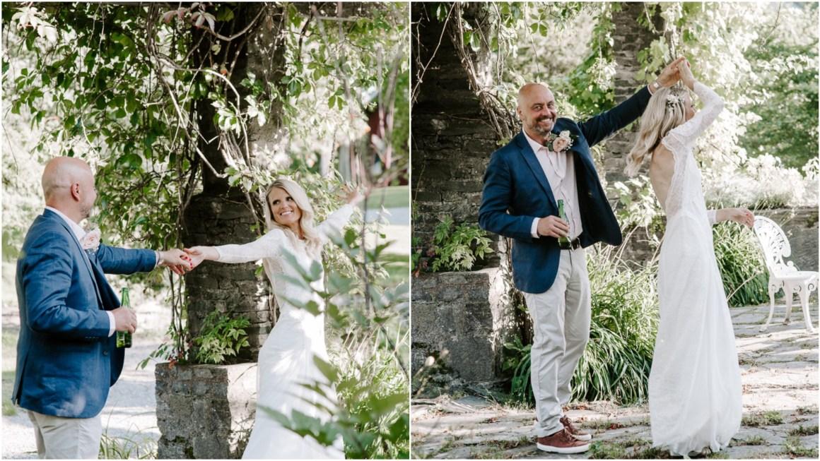 Creative wedding photographer in Essex