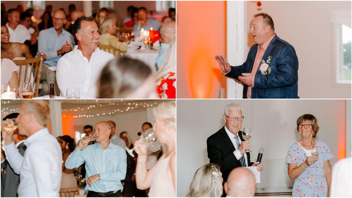 Wedding speeches and fun creations
