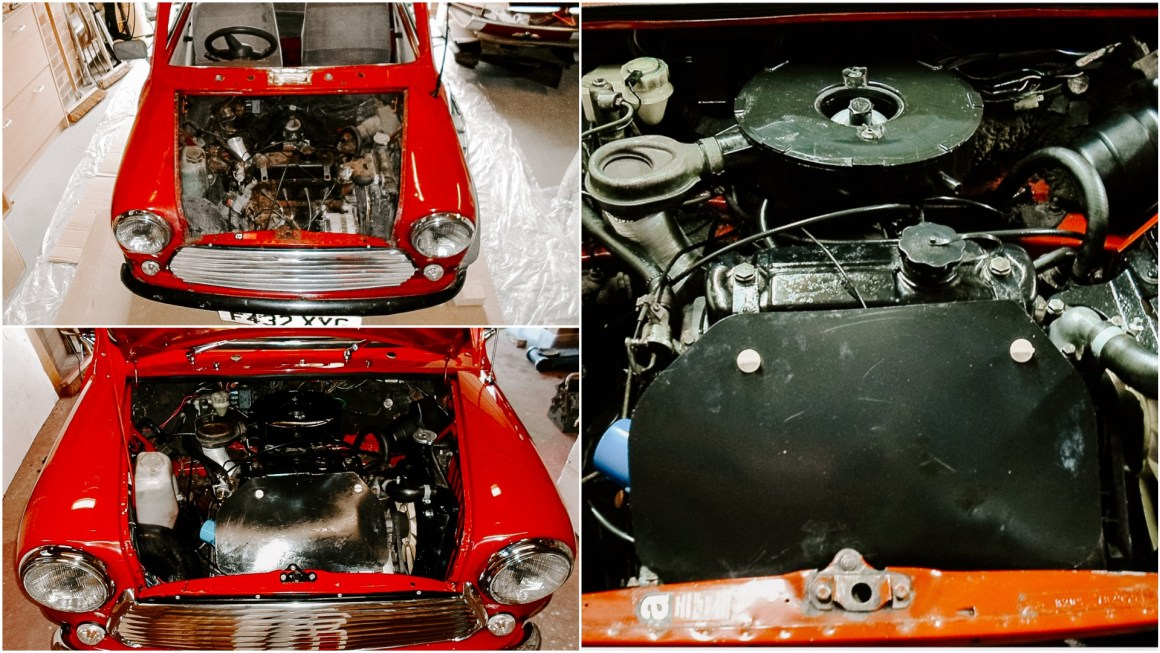 Classic Mini Restoration - Under the