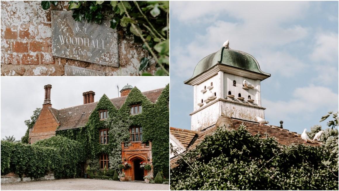 Woodhall Manor wedding venue in Suffolk