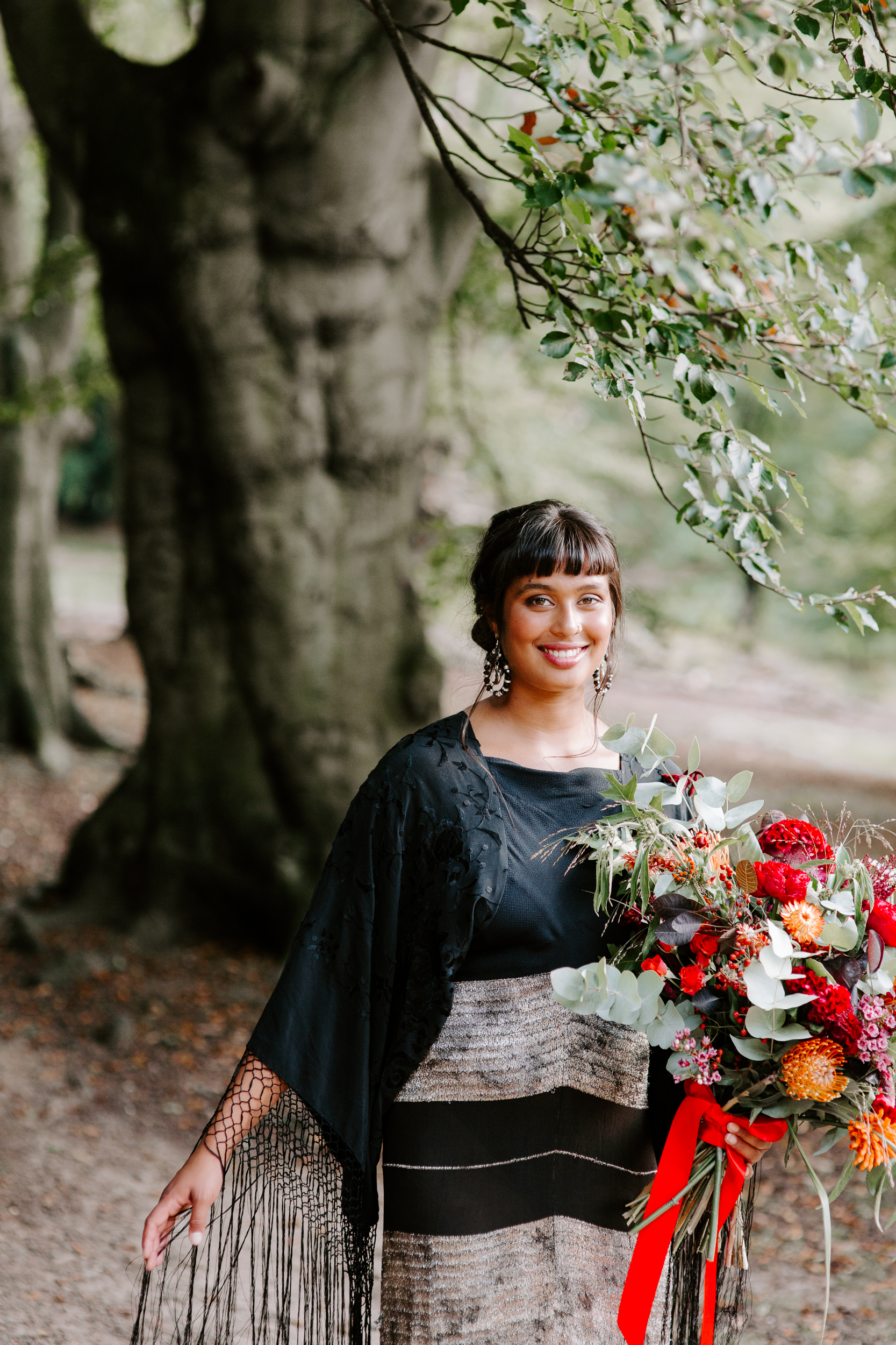 Essex bridal photography in Epping Forest