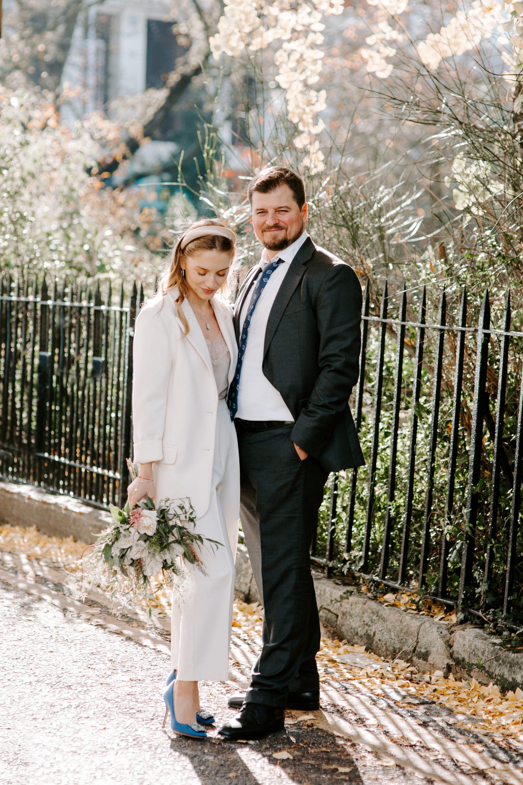 London wedding portraits in Chelsea
