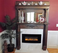 The Fireplaces - Carolines Bed & Breakfast