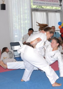 Sparring Karate- And Art Of Perfecting Spin