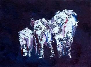 elephant herd painting