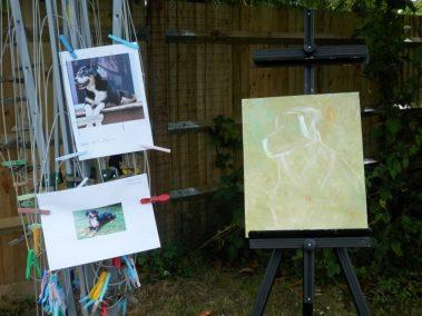 Surrey Artists' Open Studios, en plein air painting