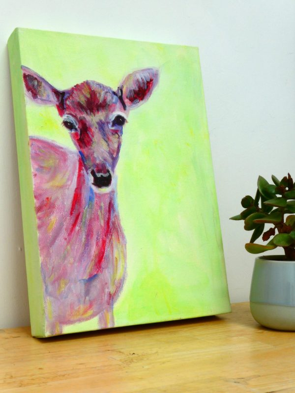 Original deer artwork